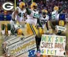 Packers de Green Bay champion NFC 2010-11