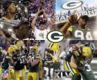 Green Bay Packers ont célébré leur victoire lors du Super Bowl 2011
