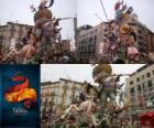 - Le chasseur chassé - vainqueur de la Fallas 2011. Le festival est célébré Fallas 15-19 Mars à Valence, en Espagne.
