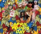 Poisson d'avril a célébré le 1 er avril consacré aux blagues dans de nombreux pays