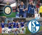 League des Champions - UEFA Champions League Quarts de finale 2010-11, le FC Internazionale Milano - FC Schalke 04
