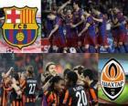 League des Champions - UEFA Champions League Quarts de finale 2010-11, le FC Barcelone - Shakhtar Donetsk