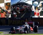 Lewis Hamilton - McLaren - Melbourne, Australie Grand Prix (2011) (2e place)