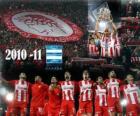 FC Olympiakos, champion de la ligue grecque 2010-11