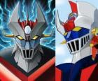 Mazinger Z, images de la tête de la Super Robot