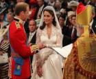 British Royal mariage entre le prince William et Kate Middleton, si je veux