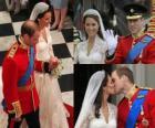 British Royal mariage entre le prince William et Kate Middleton, une fois mariée