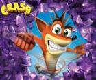Crash Bandicoot, le protagoniste du jeu vidéo Crash Bandicoot