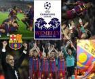 Fc Barcelone qualifié pour la finale de la Ligue des Champions - UEFA Champions League 2010-11