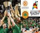 Panathinaikos, PAO, champion de l'Euroligue de basket-ball 2011