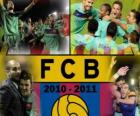 FC Barcelone champion de la ligue BBVA 2010 - 2011