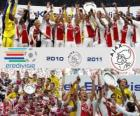 AFC Ajax Amsterdam, champion de la ligue des Pays-Bas de football - Eredivisie - 2010-11