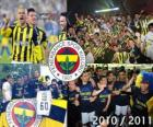Fenerbahçe SK, champion de la ligue de football turc, Super Lig 2010-2011