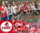 LOSC Lille, champion de la ligue française de football, Ligue 1 2010-2011