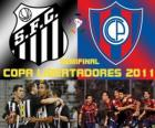 Santos FC - Cerro Porteño. Copa Libertadores 2011 Demi-finale