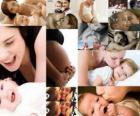 Mères avec enfants