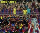 FC Barcelona, champion de la Ligue des champions de l'UEFA 2010-2011