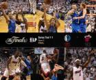 Finales NBA 2011, Game 2, Dallas Mavericks 95 - Miami Heat 93