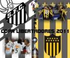 FC Santos - Montevideo Peñarol. Copa Libertadores 2011 Final