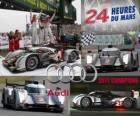 Champions des 24 Heures du Mans 2011 Audi R18 TDI