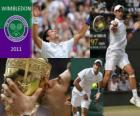 Novak Djokovic vainqueur de Wimbledon 2011