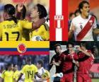 Colombie - Pérou, quarts de finale, Argentine 2011