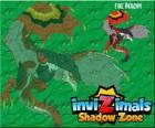 Fire Dragon. Invizimals Shadow Zone. Les dragons qui jettent le feu de leurs bouches aurait pu le craindre, depuis les temps anciens