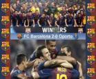 FC Barcelone Champion 2011 Supercoupe UEFA