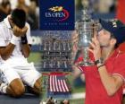 Novak Djokovic champion US Open de tennis 2011