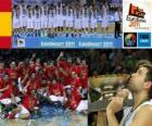 L'Espagne, championne de l'EuroBasket 2011