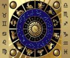 Les douze signes du zodiaque, Roue de zodiaque ou Cercle du Zodiaque