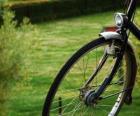 Roue avant d'un vélo