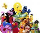 Les personnages principaux de Sesame Street