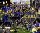 Boca Juniors, champion de le tournoi Apertura 2011 de l'Argentine