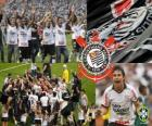 Corinthians, champion de l'édition 2011 du Championnat du Brésil
