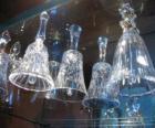 Cloches de Noël de verre