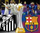 Santos FC - FC Barcelona. Final de Coupe du monde des clubs de la FIFA Japon 2011