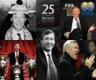 Distinction présidentielle de la FIFA de 2011 pour Alex Ferguson
