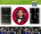 Norio Sasaki entraîneur Année 2011 Football Féminin de la FIFA