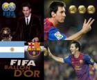 Lionel Messi Ballon d'Or FIFA 2011