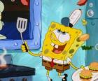 SpongeBob travaille