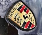 Logo de Porsche, marque allemande de voitures de luxe