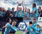 Zénith Saint-Pétersbourg, champion de la Ligue de Football russe, Premier Ligue 2011-2012