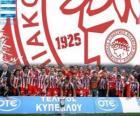 Olympiakos Le Pirée, champion Super League 2011-2012, Ligue de Football grecque