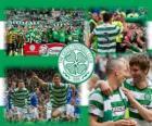 Celtic FC, champion de la Scottish Premier League 2011-2012. Championnat d'Écosse de football