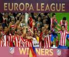 Atlético de Madrid, champion de l'UEFA Europe League 2011-2012