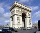 L'arc de triomphe de l'Étoile, Paris
