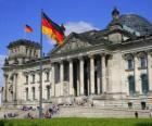 Le Reichstag, Francfort, Allemagne