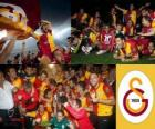 Galatasaray, champion Super Lig 2011-2012, Ligue de Football de Turquie