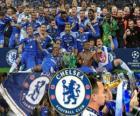 Chelsea FC, le champion de la Ligue des Champions 2011-2012 UEFA